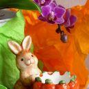 13. Velikonočni zajček s košarico   IC = 2 eur