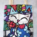 2. Mačkasta nakupovalna vrečka    IC = 8 eur