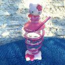 172. Hello Kitty steklenička s slamico   IC = 4 eur