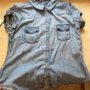 17b. Levi's jeans srajca (št. L) nošena, primerna za M ali manjši L  IC = 8 eur