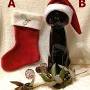 154a,b. Božični škorenjc in božičkova kapica  ICa,b = 4 eur