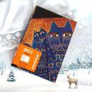 17. Mačkast rokovnik Paperblanks, Mediterranean Cats by Laurel Burch   IC = 9 eur