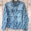 44. Jeans srajčka, L(otroška) ali S (odrasla ženska)  Cena: 4 eur ( + 2 eur poštnina )