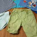4x majica kratek rokav, kapica in tanke hlače H&M, 80, 12 eur