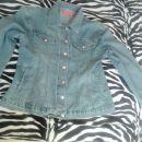 svetla jeans zenska jakna XL
