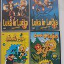 knjige otroške  in igre ,CD in DVD ji ,