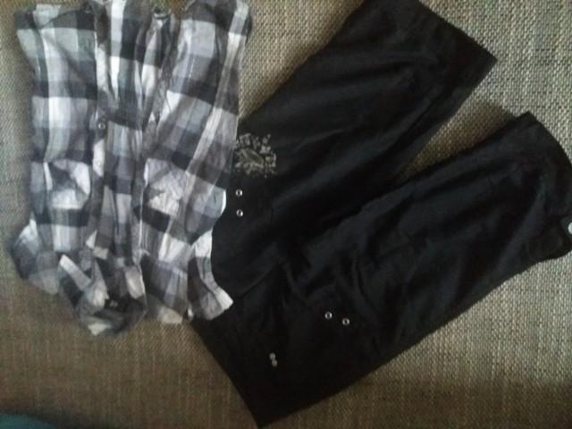 Hlače z bluzo 10let-140
