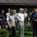 Delegat razstave g. Denis Kuzelj-desno