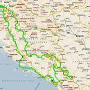 skupna pot, vsega skupaj cca 2800 km