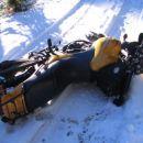 Rahlo polaganje na snegu