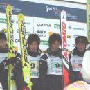 Bronasti Japonci: Naoya Toyama, Juhei Sasaki, Shohei Tochimoto in Kenshiro Ito
