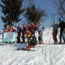 Tekmovalci slaloma Konfin 2006. Dogodek: 12.02.06.