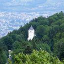 Bolfenk na Pohorju posnet iz razglednega stolpa