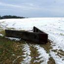 Plug za pluženje snega - primitiven!