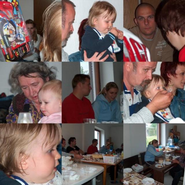 Prvi rojstni dan 14.05.2006. - foto