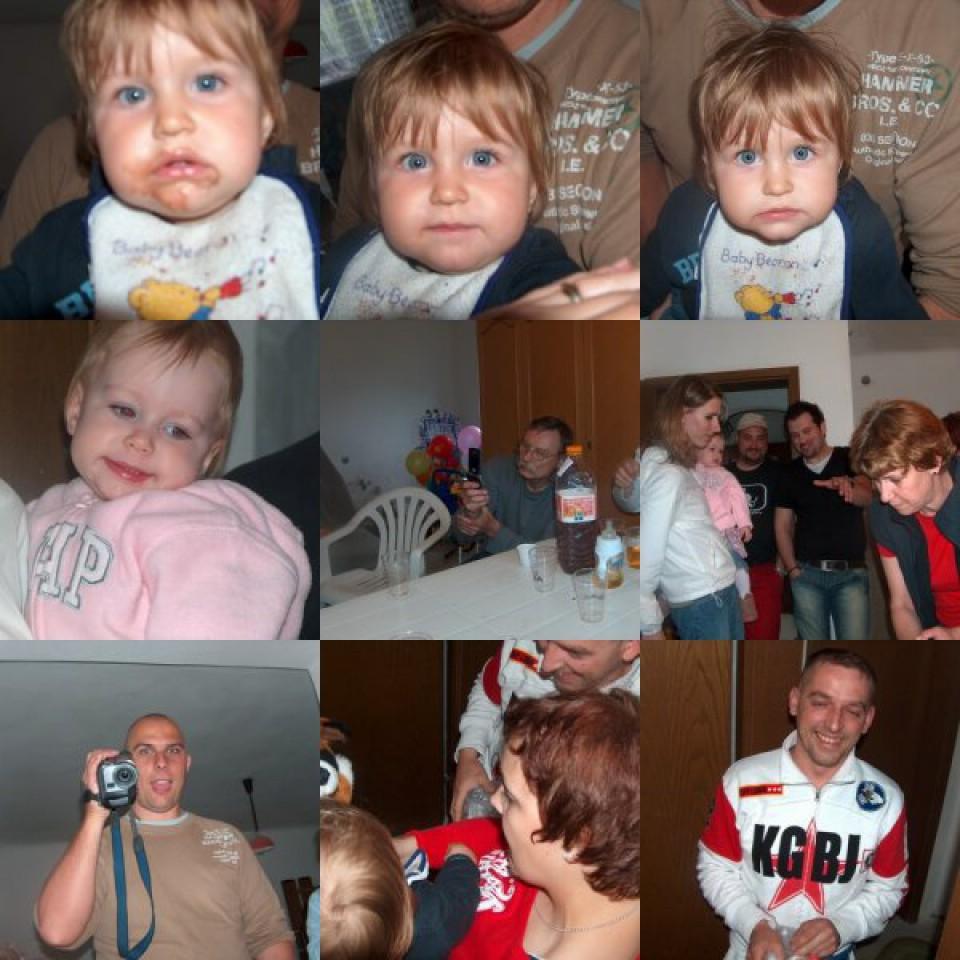 Prvi rojstni dan 14.05.2006. - foto povečava