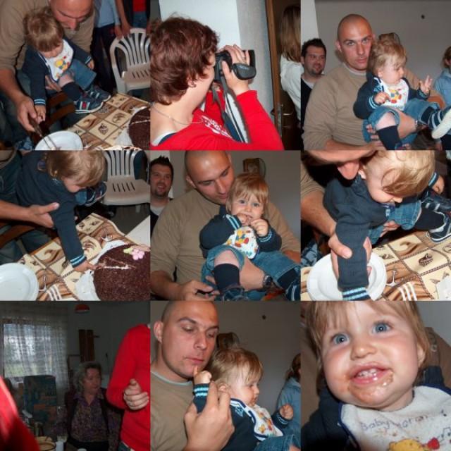 Prva torta-rezanje