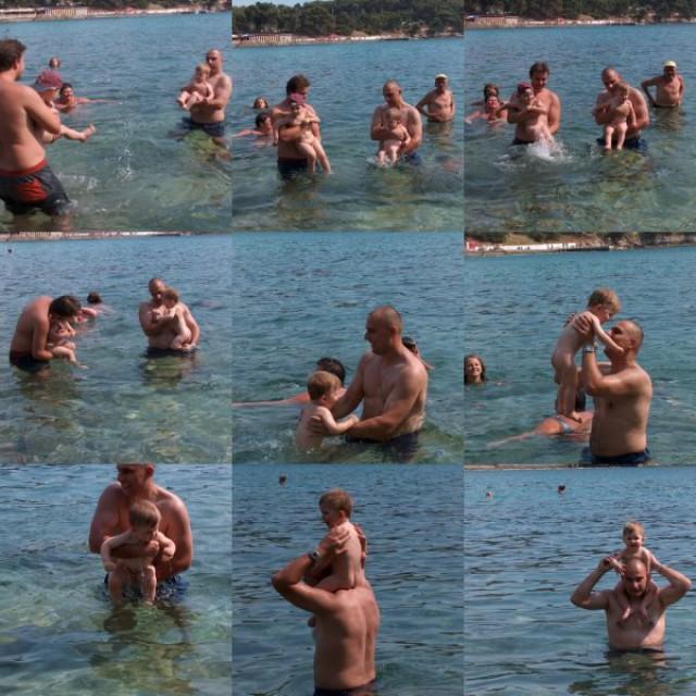 Prvič na morju 07.2006-PULA - foto