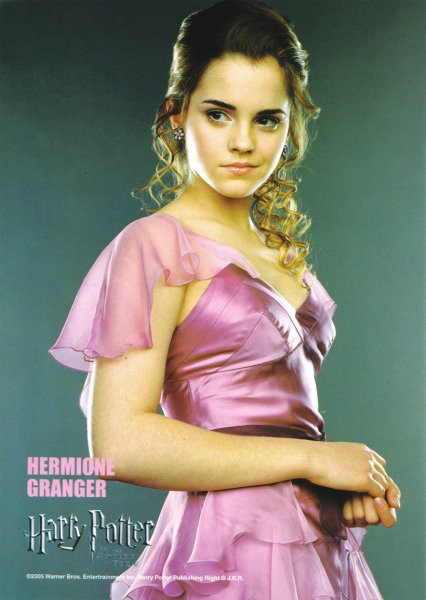 Hermiona na plesu