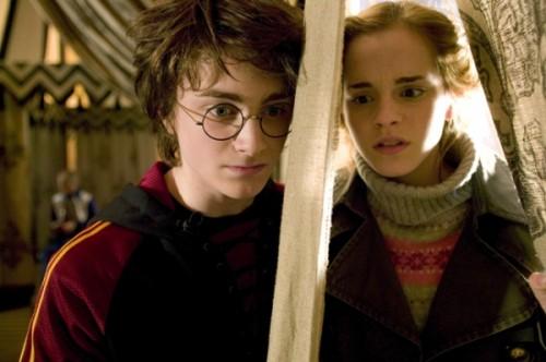 Harry in Hermiona pred prvo nalogo