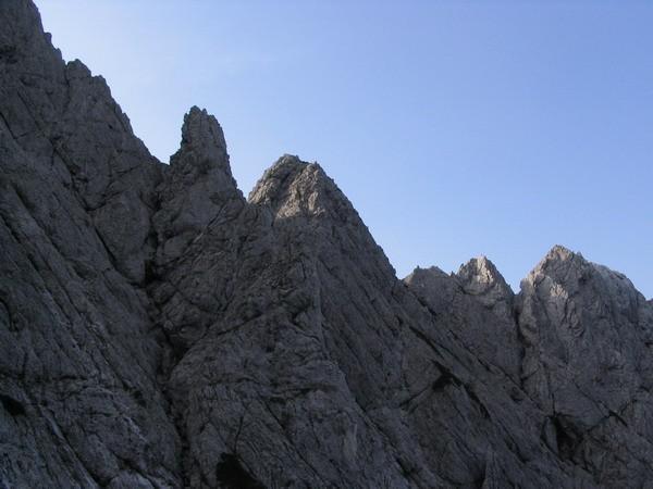 Zeleniške špice - Staničev vrh