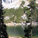 prvi pogled na eno izmed sedmerih jezer