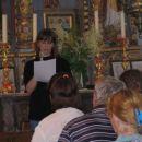 Marta Vidmar nam je v cerkvi sv. Marjetepovedala veliko zanimivih reči