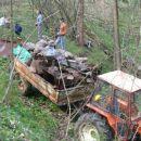 veliko smeti se je nabralo