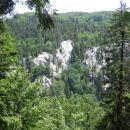Pod Bačvo so mamljive stene za proste plezalce