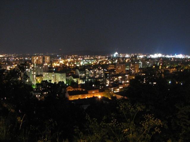 Ljubljanski grad experimentiranje - foto