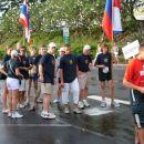 Slovenska ekipa ironmancev in njeni navijači