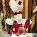 še zajček v rdeči oblekici