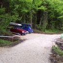 Urejen parking za tekmovalnim prostorom RD Voglajna