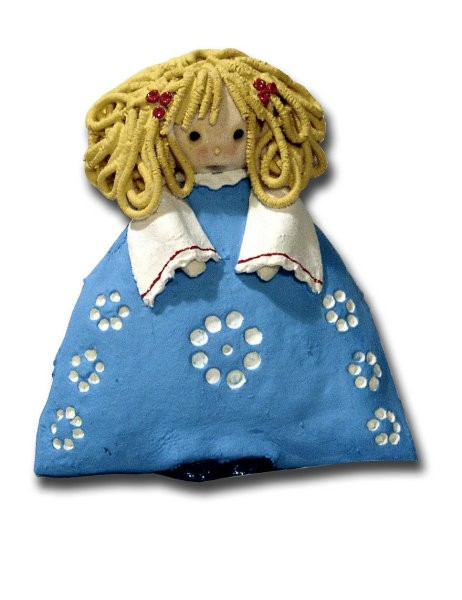 Punčke-dolls (slano testo) - foto