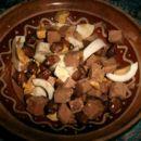 Solata s tunino, fižolom in jajci