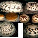Torte: smetanove, skutne