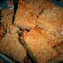 grško medeno pecivo s sezamom