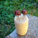 ježka - mini uhančki