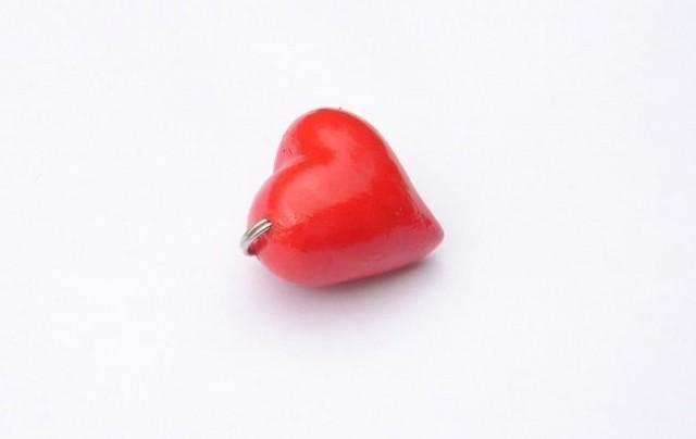 Srček - obesek za ključe