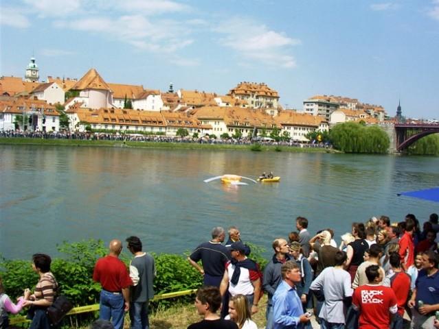 Prvi flight day na Dravi, v Mariboru - foto