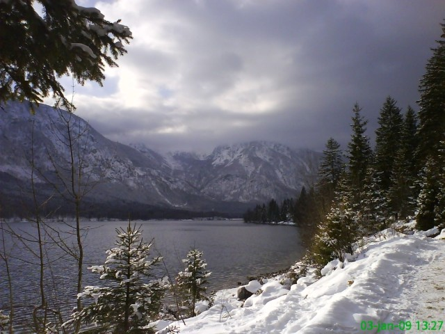 Bohinjsko jezero 3.1.2009