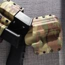 Double Mag Pouch Glock 9mm/.40 Multicamo/Chocolate Brown