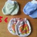 3x rokavičke za dojenčka - 1 €
