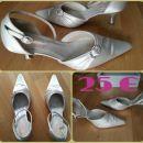 Poročni čevlji vel.40  Zelo udobni!!! 5cm peta - 25 €