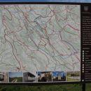 Zemljevid v vasi