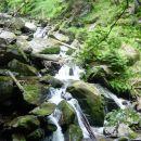 Celotno pot proti Velikemu Šumiku Lobnica kaže svojo nemirno naravo in nas razveseljuje s