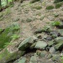 V nadaljevanju je potrebno nekaj manjših hudournikov prečiti tudi peš, vendar so seveda vs