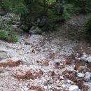 Prečišče suhe struge Kamniške Bele