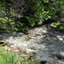Izliv Kamniške Bele v Kamniško Bistrico