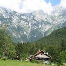 Pogled na Kamniško-Savinjske Alpe